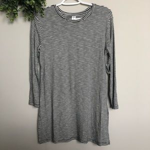 Old Navy NWT Luxe striped T-shirt dress   Sz S